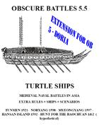 OBSCURE BATTLES 5 DORIA ASIAN EXTENSION (TURTLE SHIPS EXTENSION)