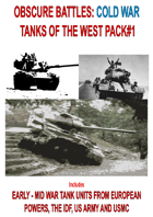 OBSCURE BATTLES 2 - COLD WAR - TANKS OF THE WEST PACK#1