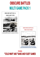 MULTIGAMEPACK 1 SAND AND FLIES AND COLDWAR