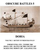 OBSCURE BATTLES 5 - DORIA - EXTRA MEDITERRANEAN EXPANSION SCENARIOS