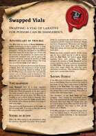 Scrolls of Adventures: Adventure Plot - Swapped Vials