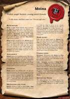 Scrolls of Adventures: NPC - Moina