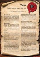 Scrolls of Adventures: NPC - Tanca