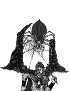 Spider Ambush - Stock art