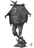 BABA YAGA HOUSE - Stock art