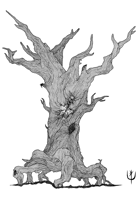 CURSED TREE - Stock art
