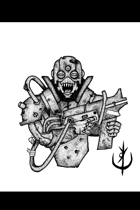 SCI FI SOLDIER 1 (portrait) - Stock art