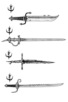 Weapons pack - One-Handed Swords 1 - Stock Art