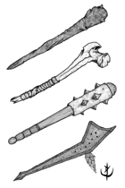 Weapons pack - Clubs 1 - Stock Art