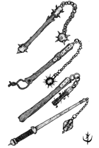 Weapons pack - Flail 1 - Stock Art