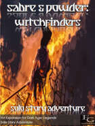 Sabre & Powder: Witchfinders - Solo Story Adventure