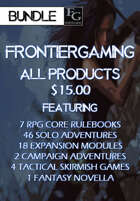 AFG056 All FrontierGaming Products [BUNDLE]