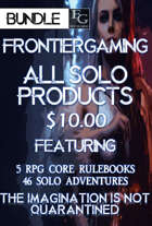 ASFG028 All Solo FrontierGaming Products  [BUNDLE]