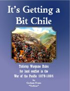 It's Getting a Bit Chile