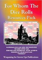 For Whom The Dice Rolls Resources