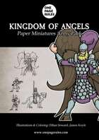 Kingdom of Angels Army Pack - Paper Miniatures