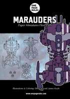 Marauders Fleet Pack - Paper Miniatures