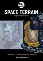 Space Terrain Pack - Paper Terrain