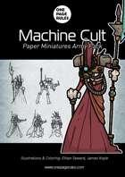 Machine Cult Army Pack - Paper Miniatures