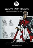 Jakob's Path Heroes Character Pack - Paper Miniatures