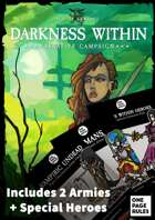 Darkness Within - Narrative Campaign & Paper Miniatures [BUNDLE]