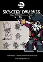 Sky-City Dwarves Army Pack - Paper Miniatures