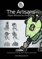 The Artisans Gang Pack - Paper Miniatures