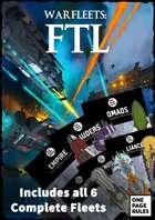 Warfleets: FTL - Full Rulebook & Paper Miniatures [BUNDLE]