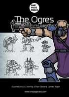 The Ogres Gang Pack - Paper Miniatures
