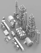 Infrastructure & Objectives Pack 02 (STL Pack)