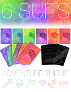 6 suits of 18: Adventure Theme
