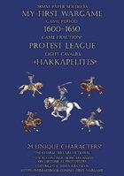 Protest League 1600-1650. Light cavalry.