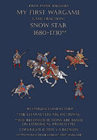 Snow Star 1680-1730. 15mm paper soldiers.