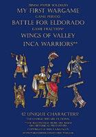 Wings of Valley. Inca warriors.