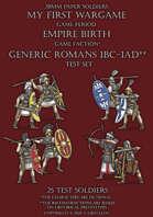 Lions of Rock. 100BC-100AD. Roman legions. Test set.