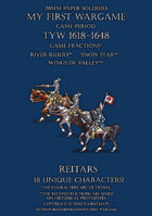 Protest League. Heavy cavalry. Reitars 1600-1650.