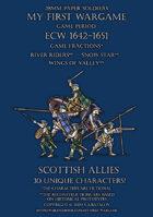 ECW Protest League. Scottish allies 1640-1660.