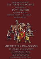 ECW Loyal Alliance. Musketeers (dragoons) 1640-1660.