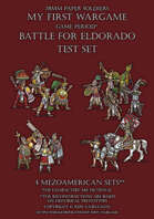 Lions of Rock. Aztecs warriors. Test set