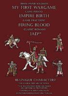 Firing Blood. Classic Romans 1AD.
