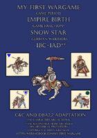 Snow Star. 100BC-100AD. German warriors. C&C - DBA2.2 adaptation.