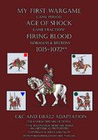 Firing Blood. Normans & Bretons 1015-1072. C&C - DBA2.2 adaptation