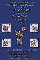 Snow Star. Vikings 9-11AD. C&C - DBA2.2 adaptation.