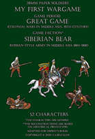 Siberian Bear. Generic Russian-style army in Middle Asia 1864-1880.