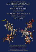 Empire Birth. Barbarian Bundle 1BC-1AD [BUNDLE]