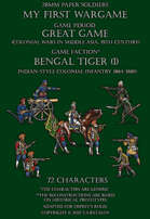 Bengal Tiger (part I). Generic indian-style colonial infantry 1864-1880.