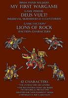 Lions of Rock. Generic Medieval warriors 12-13c.