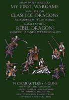 Rebel Dragons. Generic Japanese warriors 16-17c.