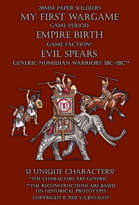 Evil Spears. Generic numidian warriors 3BC-1BC
