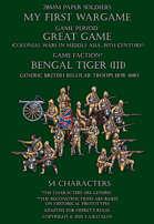 Bengal Tiger (part III). Generic British regular troops 1878-1880
